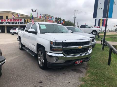 2016 Chevrolet Silverado 1500 for sale at FREDY CARS FOR LESS in Houston TX