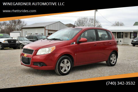 2009 Chevrolet Aveo for sale at WINEGARDNER AUTOMOTIVE LLC in New Lexington OH