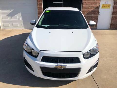 2013 Chevrolet Sonic for sale at Moore Imports Auto in Moore OK
