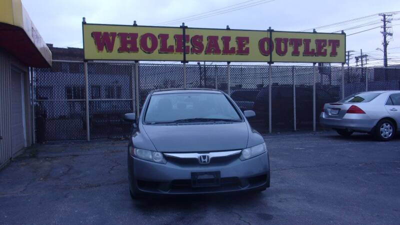 2009 Honda Civic for sale at LONG BROTHERS CAR COMPANY in Cleveland OH