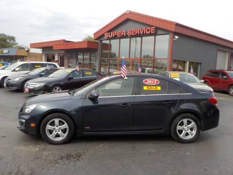 2015 Chevrolet Cruze for sale at Super Service Used Cars in Milwaukee WI