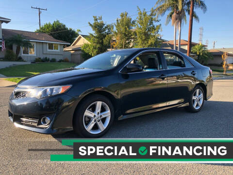 2012 Toyota Camry for sale at Carmelo Auto Sales Inc in Orange CA