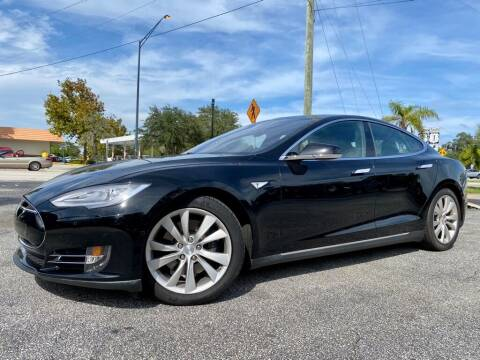 2015 Tesla Model S for sale at Blum's Auto Mart in Port Orange FL