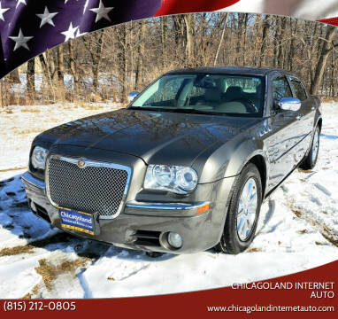 2008 Chrysler 300 for sale at Chicagoland Internet Auto - 410 N Vine St New Lenox IL, 60451 in New Lenox IL