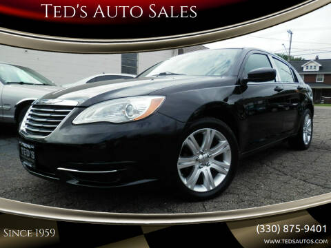 2011 Chrysler 200 for sale at Ted's Auto Sales in Louisville OH