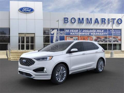 2021 Ford Edge for sale at NICK FARACE AT BOMMARITO FORD in Hazelwood MO