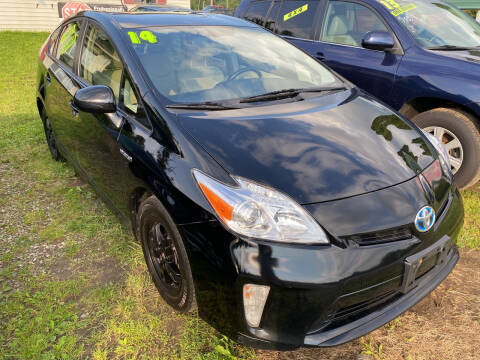 2014 Toyota Prius for sale at Richard C Peck Auto Sales in Wellsville NY