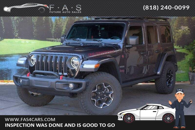 2020 Jeep Wrangler Unlimited for sale at Best Car Buy in Glendale CA