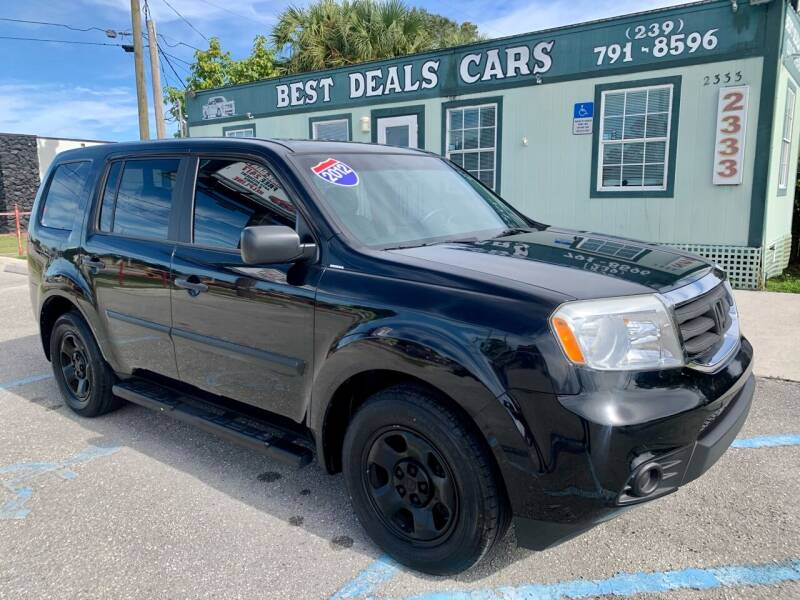 2012 Honda Pilot for sale at Best Deals Cars Inc in Fort Myers FL