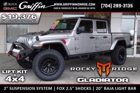 2020 Jeep Gladiator for sale at Griffin Buick GMC in Monroe NC