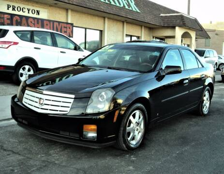 2007 Cadillac CTS for sale at DESERT AUTO TRADER in Las Vegas NV