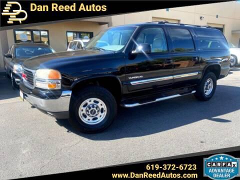 2002 GMC Yukon XL for sale at Dan Reed Autos in Escondido CA