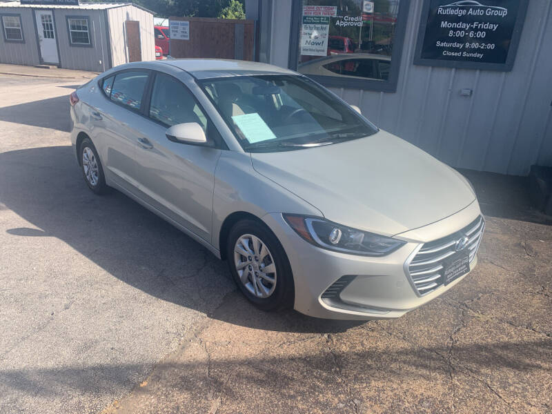 2017 Hyundai Elantra for sale at Rutledge Auto Group in Palestine TX