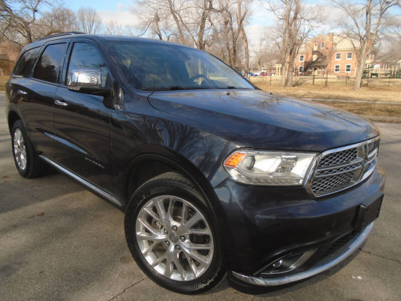 2014 Dodge Durango for sale at Sunshine Auto Sales in Kansas City MO