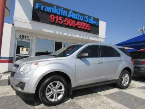 2013 Chevrolet Equinox for sale at Franklin Auto Sales in El Paso TX