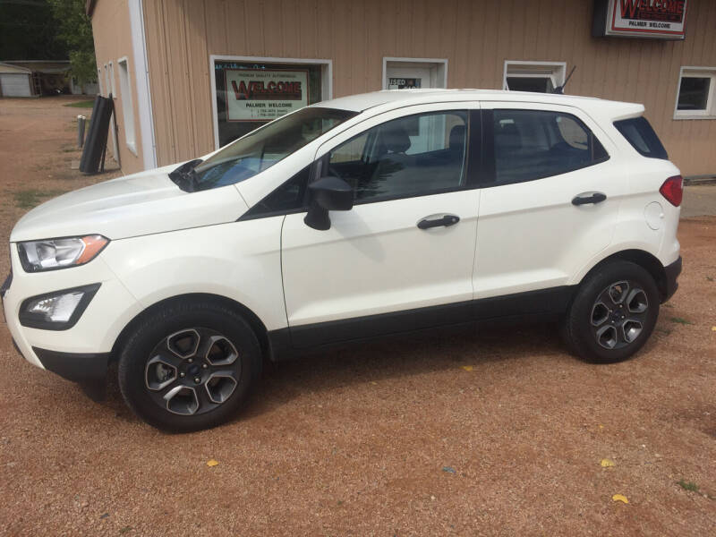 2021 Ford EcoSport for sale at Palmer Welcome Auto in New Prague MN
