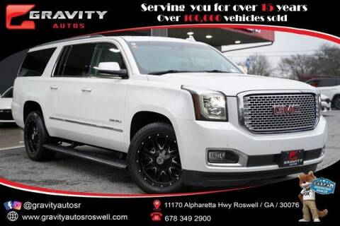 2017 GMC Yukon XL for sale at Gravity Autos Roswell in Roswell GA