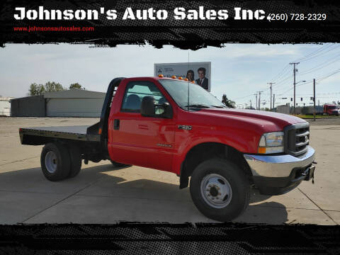 2003 Ford F-350 Super Duty for sale at Johnson's Auto Sales Inc. in Decatur IN