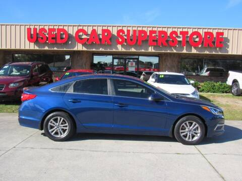 2015 Hyundai Sonata for sale at Checkered Flag Auto Sales NORTH in Lakeland FL