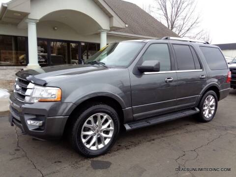 2015 Ford Expedition for sale at DEALS UNLIMITED INC in Portage MI