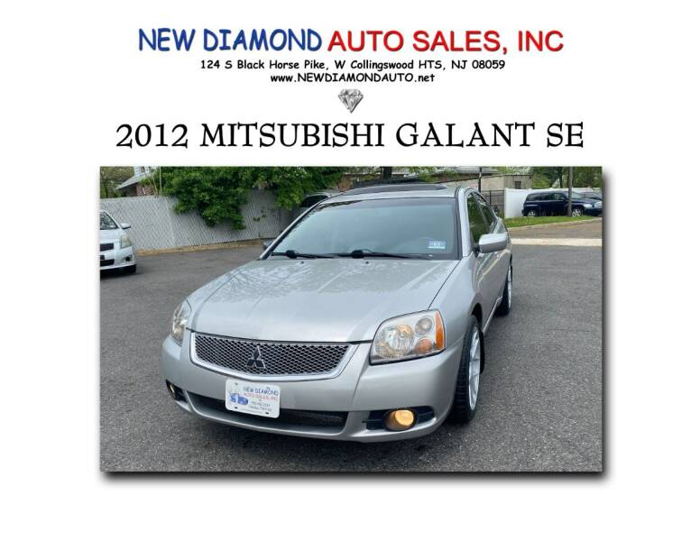 2012 Mitsubishi Galant for sale at New Diamond Auto Sales, INC in West Collingswood NJ