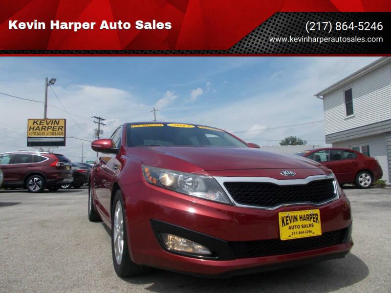 2013 Kia Optima for sale at Kevin Harper Auto Sales in Mount Zion IL