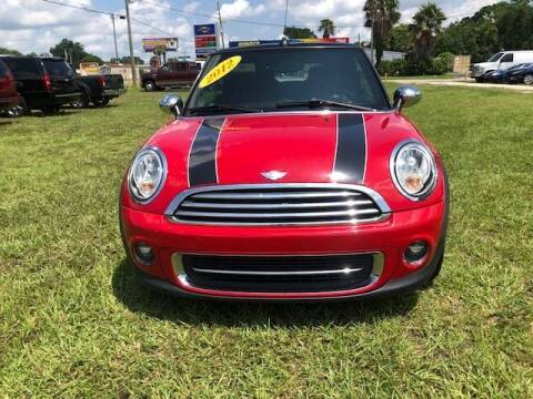2012 MINI Cooper Convertible for sale at Unique Motor Sport Sales in Kissimmee FL