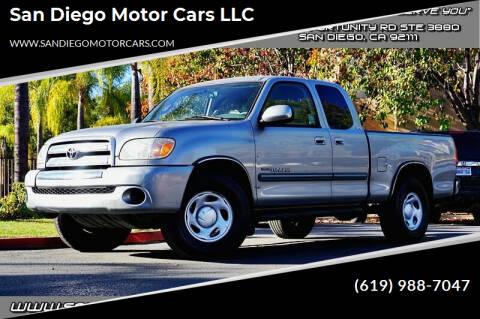 2006 Toyota Tundra for sale at San Diego Motor Cars LLC in San Diego CA