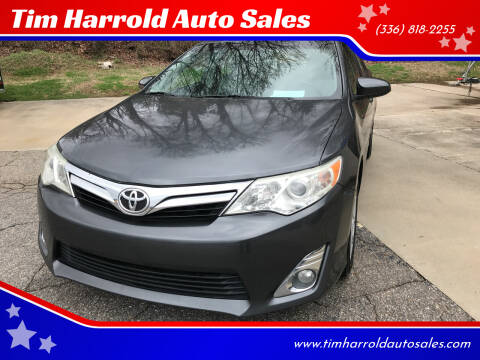2012 Toyota Camry for sale at Tim Harrold Auto Sales in Wilkesboro NC