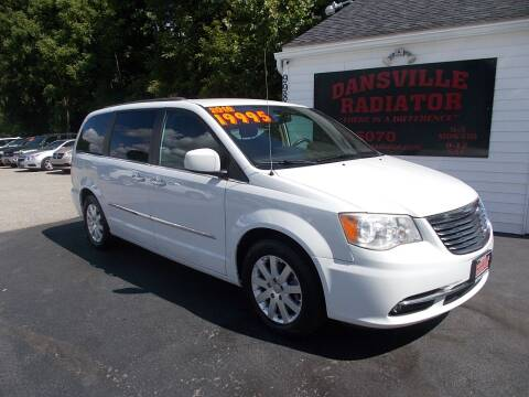 2016 Chrysler Town and Country for sale at Dansville Radiator in Dansville NY