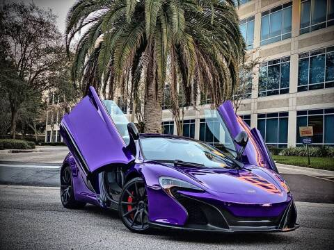 2015 McLaren 650S Spider for sale at FALCON AUTO BROKERS LLC in Orlando FL