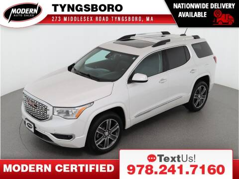 2018 GMC Acadia for sale at Modern Auto Sales in Tyngsboro MA
