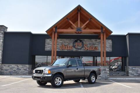 2005 Ford Ranger for sale at JW Auto Sales LLC in Harrisonburg VA