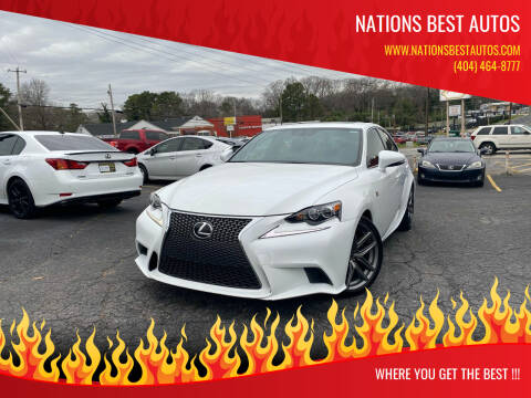 2014 Lexus IS 250 for sale at Nations Best Autos in Decatur GA