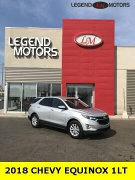 2018 Chevrolet Equinox for sale at Legend Motors of Waterford - Legend Motors of Ferndale in Ferndale MI