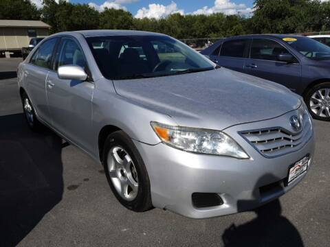 2011 Toyota Camry for sale at Auto Solution in San Antonio TX