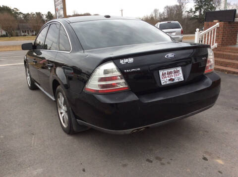 2008 Ford Taurus for sale at Ace Auto Sales - $800 DOWN PAYMENTS in Fyffe AL