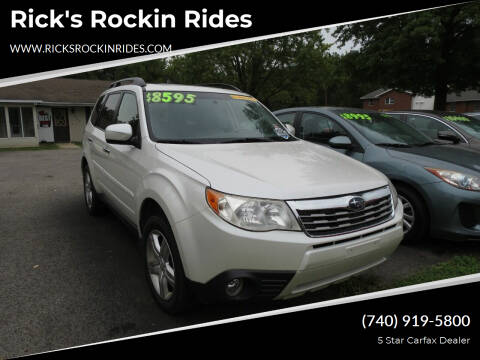 2010 Subaru Forester for sale at Rick's Rockin Rides in Reynoldsburg OH