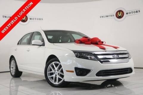 2012 Ford Fusion for sale at INDY'S UNLIMITED MOTORS - UNLIMITED MOTORS in Westfield IN