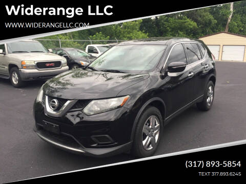 2014 Nissan Rogue for sale at Widerange LLC in Greenwood IN