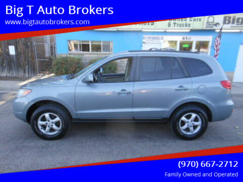 2007 Hyundai Santa Fe for sale at Big T Auto Brokers in Loveland CO