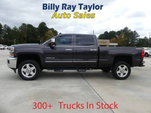 2015 Chevrolet Silverado 2500HD for sale at Billy Ray Taylor Auto Sales in Cullman AL