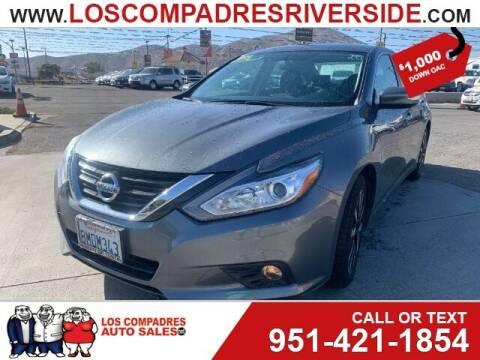 2018 Nissan Altima for sale at Los Compadres Auto Sales in Riverside CA