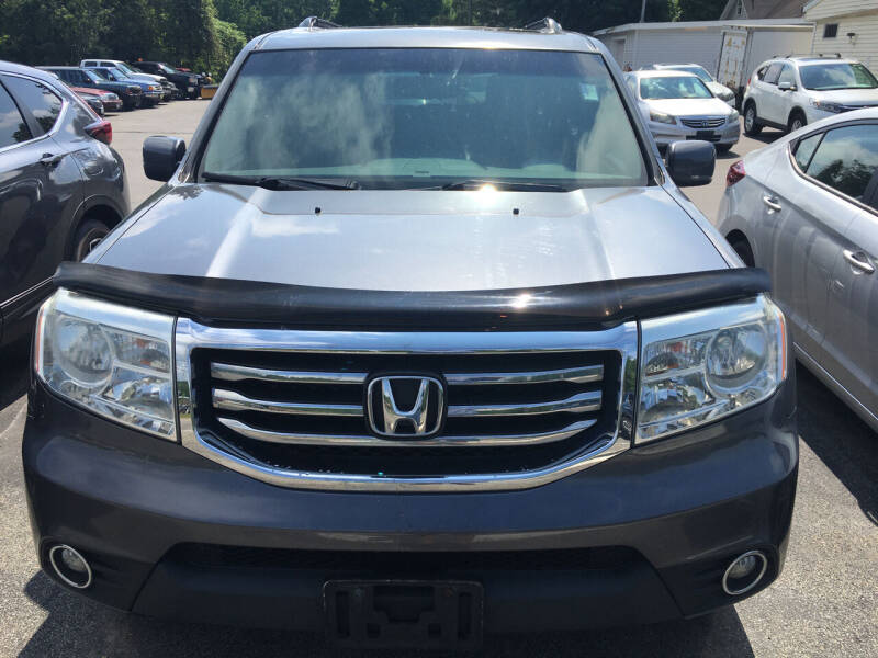 2014 Honda Pilot for sale at Karlins Auto Sales LLC in Saratoga Springs NY