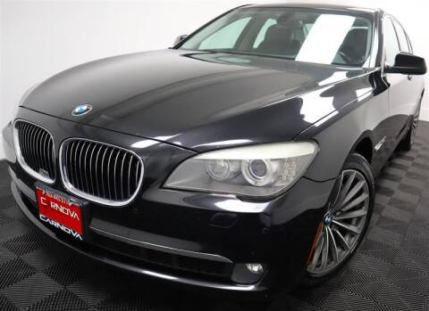 2011 BMW 7 Series for sale at CarNova in Stafford VA
