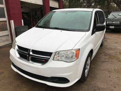 2014 Dodge Grand Caravan for sale at 4 Girls Auto Sales in Houston TX