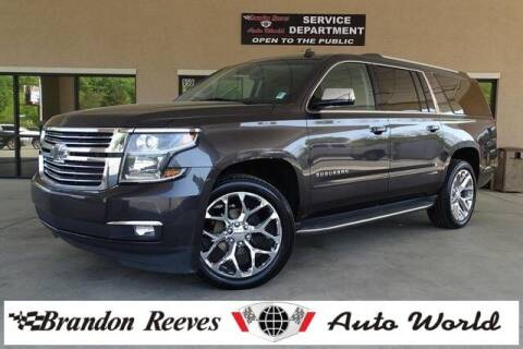 2015 Chevrolet Suburban for sale at Brandon Reeves Auto World in Monroe NC