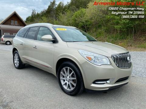 2015 Buick Enclave for sale at Armenia Motors in Seymour TN