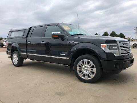 2013 Ford F-150 for sale at BERG AUTO MALL & TRUCKING INC in Beresford SD