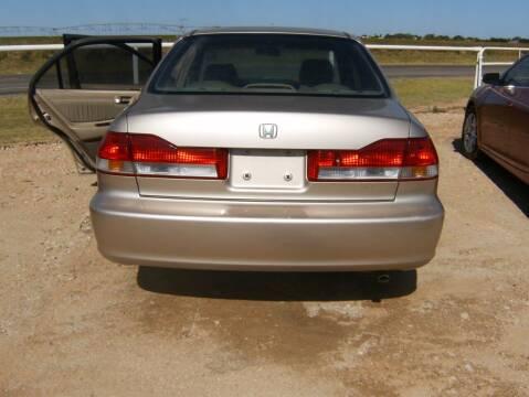 2002 Honda Accord for sale at BENHAM AUTO INC in Lubbock TX
